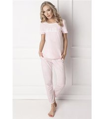 pizama babe long pink