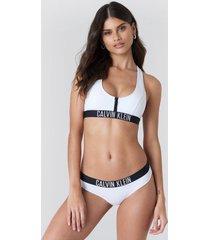 calvin klein hipster-hr bikini bottom - white