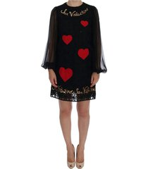 san valentino lovertjes shift jurk