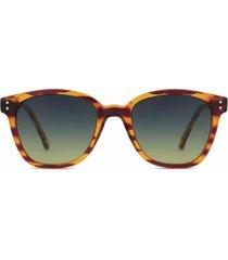 lentes de sol renee lined tortoise marrón komono