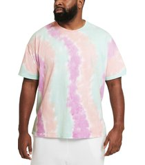 nike sportswear max 90 tie dye t-shirt, size x-large in white/grey/light dew/white at nordstrom