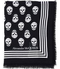 alexander mcqueen biker scarf