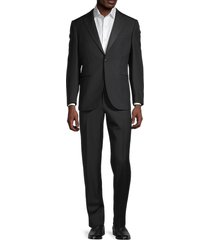 corneliani men's wool suit set - black - size 54 (44) s