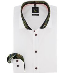 wit overhemd mouwlengte 7 olymp no. 6 super slim