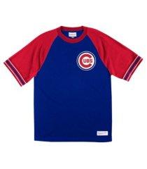 mitchell & ness men's chicago cubs team captain t-shirt