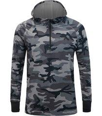 soft spirit printed hooded base-layer shirt