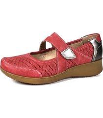 zapato mujer rojo amina begoña