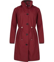happyrainydays regenjas coat doris deep red-m