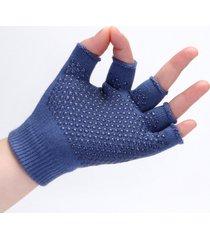 guanti mezze dita, elastici, traspiranti, elastici, traspiranti