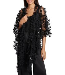 tahari asl sheer embellished shawl