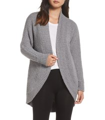 women's ugg fremont cardigan, size small - grey