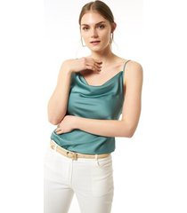 blouse jimmy sanders 19sshtw53024mint blouse