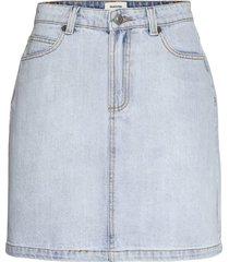 ilias vintage blue skirt kort kjol blå modström