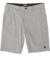 "billabong men's crossfire 5-way stretch quick-dry micro repel 21"" hybrid shorts"