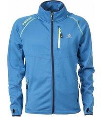 north valley softshell vest fusio - blauw