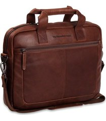 laptoptas chesterfield leren laptoptas 14 inch calvi