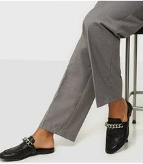 nly shoes chunky chain loafer loafers