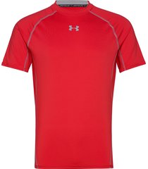 ua hg armour ss underwear t-shirts short-sleeved röd under armour