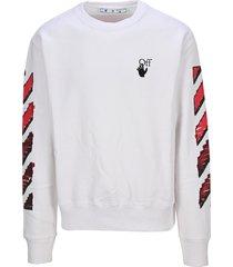 off-white off white marker sweatshirt