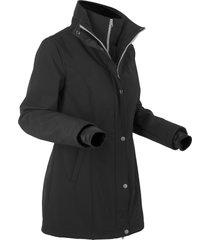 giacca corta in softshell 2 in 1 (nero) - bpc bonprix collection