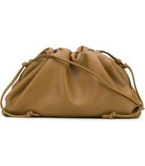 bottega veneta the mini pouch bag - brown