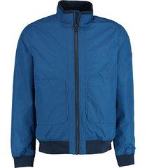 basefield zomerjas blauw blouson 219016138/605