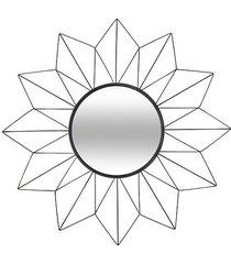 lustro dekoracyjne solei czarne