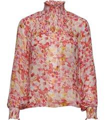 hayden blouse blus långärmad rosa inwear