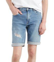 "levi's men's 502 classic fit denim 10"" shorts"