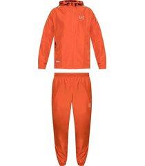 hooded jacket and sweatpants set