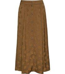 bini skirt 11162 lång kjol beige samsøe samsøe