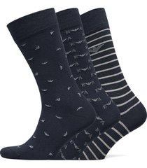 socks underwear socks regular socks multi/mönstrad emporio armani