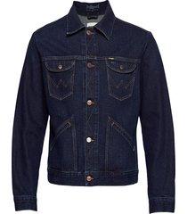 124mj jeansjack denimjack blauw wrangler