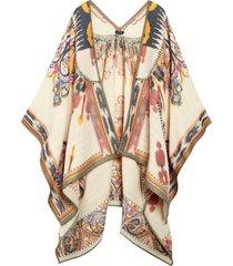 women's etro jacquard wool blend cape