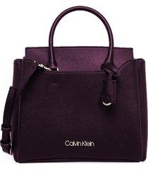 calvin klein violet handbag