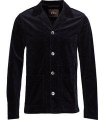 hampus shirt jacket blazer colbert blauw oscar jacobson