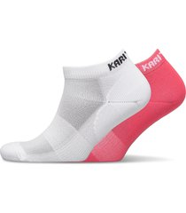 skare sock 2pk footies träningssockor/ankle socks multi/mönstrad kari traa
