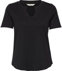 leia s/s top t-shirts & tops short-sleeved zwart odd molly