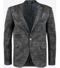 blazer gabbiano denim 2640 blazer black