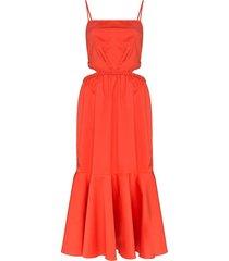 summer luck midi dress
