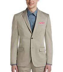 ben sherman tan extreme slim fit suit