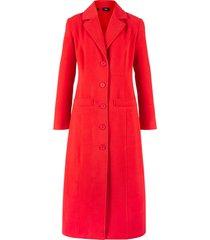 cappotto lungo in simil lana (rosso) - bpc bonprix collection