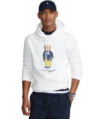 polo ralph lauren men's polo bear fleece hoodie