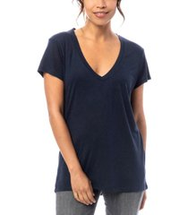 alternative apparel slinky jersey women's v-neck t-shirt