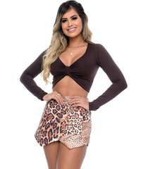 top cropped nathalia freitas vic ml marrom