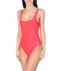 maison kitsuné one-piece swimsuits