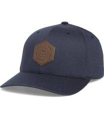 travismathew dopp stretch baseball cap, size small in mood indigo at nordstrom
