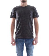 premium by jack&jones 12118886 leaf t shirt and tank men dark grey