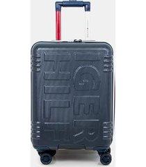 "tommy hilfiger women's 21"" spinner suitcase blue -"
