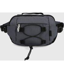 canguro gris-negro oakley street belt bag 2.0